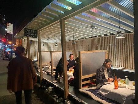 NYスタイル 冬の感染対策と寒さ対策
